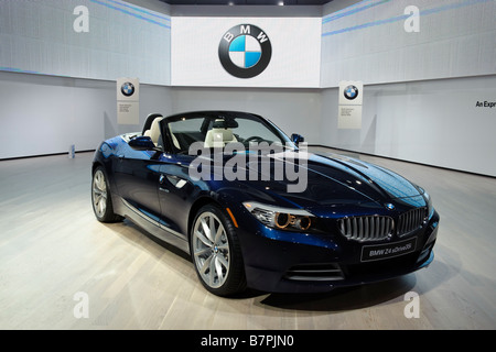 2009 BMW Z4 at the 2009 North American International Auto Show in Detroit Michigan USA - Stock Photo