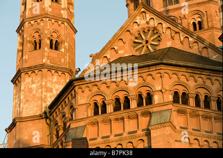 Details of the cathedral in Mainz - Stock Photo