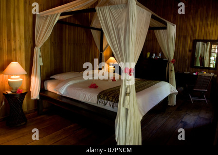 Siladen Island Resort and Spa, Sulawesi - Stock Photo