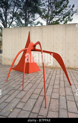 The Crab Sculpture By Alexander Calder At Lillie And Hugh Roy Cullen Stock Photo Royalty Free