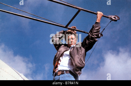 steve mcqueen the hunter 1980 stock photo royalty free image 30896588 alamy. Black Bedroom Furniture Sets. Home Design Ideas
