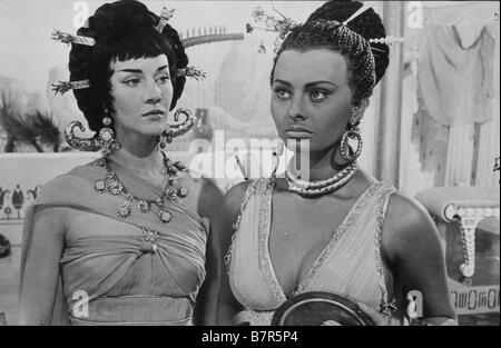 Aida  Year: 1953 - Italy Sophia Loren, Lois Maxwell  Directed by Clemente Fracassi - Stock Photo