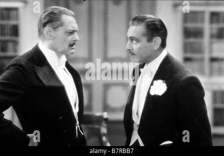 Arsène Lupin  Year: 1932 USA John Barrymore, Lionel Barrymore  Director: Jack Conway - Stock Photo