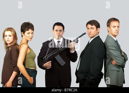 Au bonheur des hommes Hombres felices  Year: 2001 - spain María Esteve, Aitana Sánchez-Gijón, Pepón Nieto, Sergi - Stock Photo
