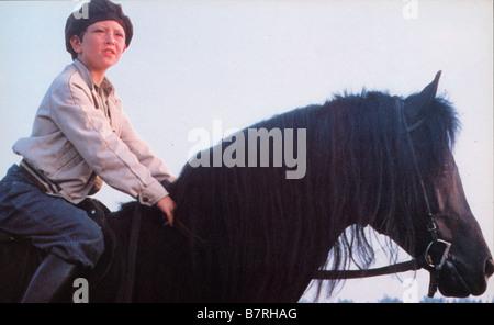 The Black Stallion  Year: 1979 USA Director: Carroll Ballard Kelly Reno - Stock Photo