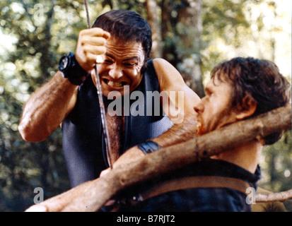 bill mckinney & burt reynolds deliverance (1972 stock