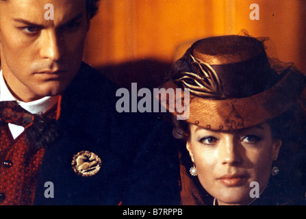 Ludwig  Year: 1972 - Italy Helmut Berger, Romy Schneider  Director: Luchino Visconti - Stock Photo