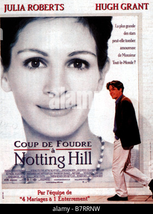 Hugh grant notting hill 1999 stock photo royalty free - Coup de foudre a notting hill musique ...