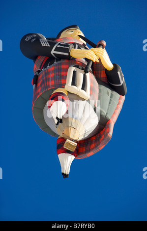 Montgolfiade in Château d'Oex - Stock Photo