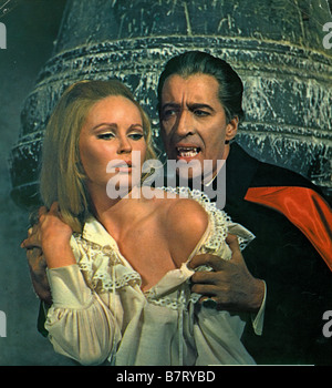 Dracula Has Risen from the Grave  Year: 1968 UK Director: Freddie Francis Christopher Lee, Veronica Carlson - Stock Photo