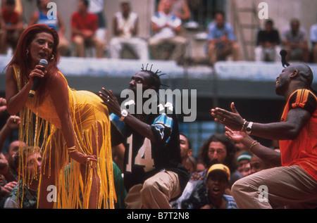 Carandiru  Year: 2003  Brazil / Argentina Rita Cadillac entertains the prisoners  Director: Hector Babenko - Stock Photo