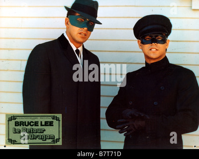 The Green hornet TV Series 1966 - 1967 USA Created by George W. Trendle Van Williams, Bruce Lee - Stock Photo