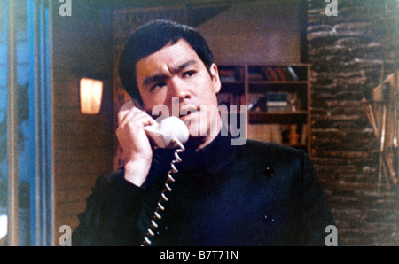 The Green hornet TV Series 1966 - 1967 USA Created by George W. Trendle Bruce Lee - Stock Photo
