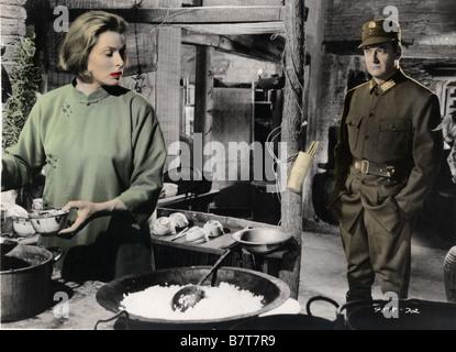 The Inn of the Sixth Happiness  Year: 1958 USA Director: Mark Robson Ingrid Bergman, Curd Jürgens, Robert Donat - Stock Photo