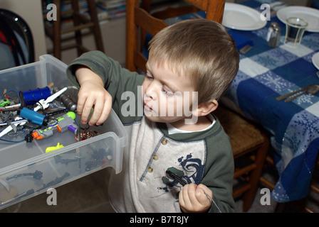 Toy Drawer - Stock Photo