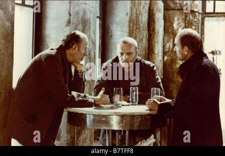 Stalker Year: 1979 - Soviet Union  Director: Andrei Tarkovsky Aleksandr Kaidanovsky,  Anatoli Solonitsyn, Nikolai - Stock Photo