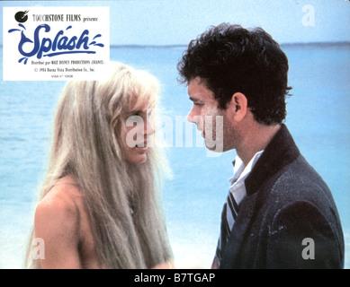 Splash  Year: 1984 USA Tom Hanks, Daryl Hannah  Director: Ron Howard - Stock Photo