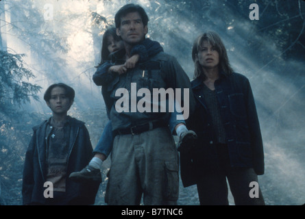 Dante's Peak  Year: 1997 USA Pierce Brosnan, Linda Hamilton, Jamie Renée Smith, Jeremy Foley  Director: Roger Donaldson - Stock Photo