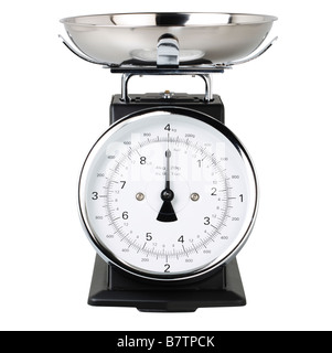 Traditional Kitchen Scales - Stock Photo