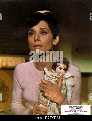 seule dans la nuit Wait Until Dark  Year: 1967 USA Audrey Hepburn  Director: Terence Young - Stock Photo