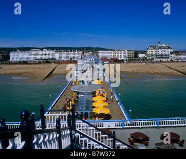 Eastbourne Pier Sussex UK - Stock Photo
