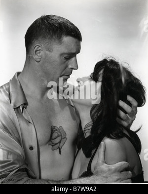 The Rose Tattoo  Year: 1955 USA Anna Magnani, Burt Lancaster  Director: Daniel Mann - Stock Photo