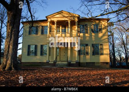 Mordecai Historical Park in Raleigh, North Carolina, USA - Stock Photo