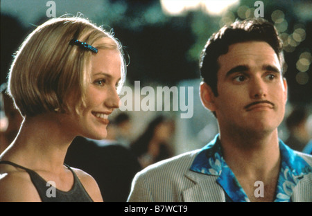There's Something About Mary  Year: 1998  USA Cameron Diaz, Matt Dillon  Director: Bobby Farrelly, Peter Farrelly - Stock Photo
