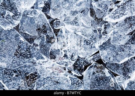 Broken ice - Stock Photo