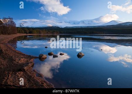 Loch Morlich, Rothiemurchus, Scotland - Stock Photo