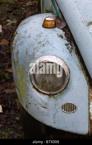 VW Beetle Front Wing - Stock Photo