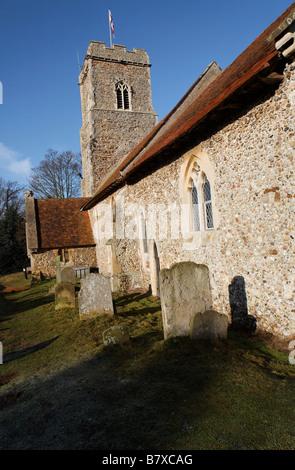 St Margaret s church Shottisham Suffolk England - Stock Photo