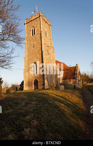 St Margaret s church Shottisham Suffolk England - Stock Photo