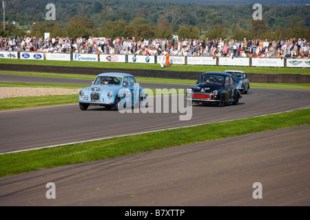 Goodwood Revival 2008 near Chichester West Sussex - Stock Photo