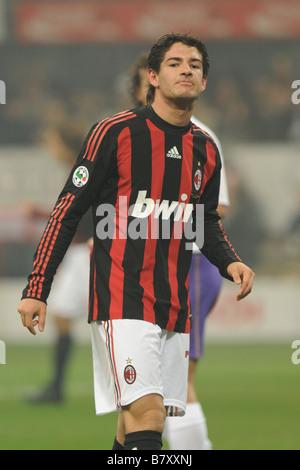 Alexandre Pato Milan DECEMBER 17 2009 Football Italian Serie A match between AC Milan and Fiorentina at the San - Stock Photo