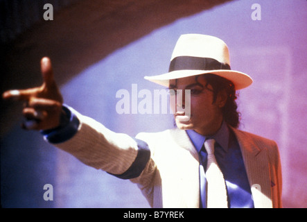 Moonwalker Year: 1988 USA Michael Jackson  Director: Jerry Kramer Jim Blashfield - Stock Photo