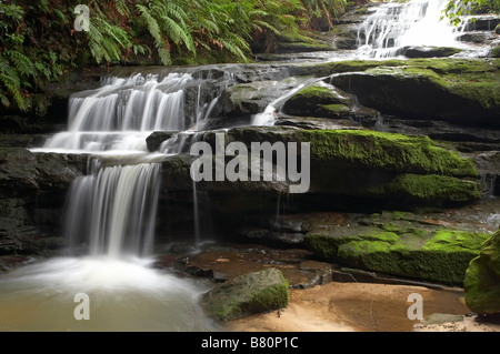Leura Cascades Blue Mountains New South Wales Australia - Stock Photo