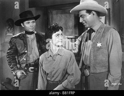 The Duel at Silver Creek  Year: 1952 USA Director: Don Siegel Audie Murphy, Stephen McNally, Susan Cabot - Stock Photo