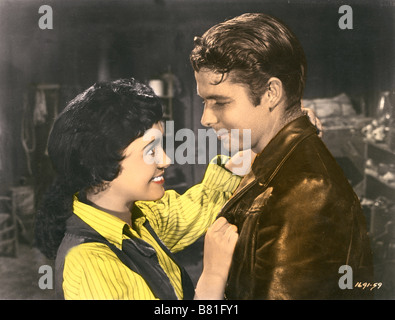 The Duel at Silver Creek  Year: 1952 USA Director: Don Siegel Audie Murphy, Susan Cabot - Stock Photo