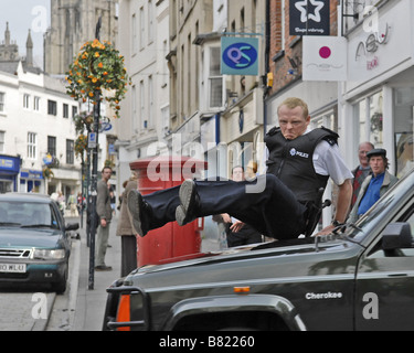 Hot Fuzz  Year: 2007 - UK Simon Pegg,  Director: Edgar Wright - Stock Photo