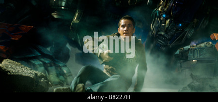 Transformers Transformers  Year: 2007 USA Shia LaBeouf  Director: Michael Bay - Stock Photo