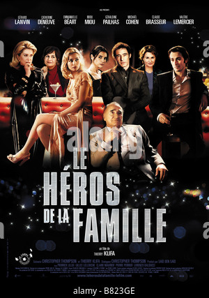 Le Héros de la famille Family Hero Year : 2006 France Director: Thierry Klifa Movie poster (Fr) - Stock Photo