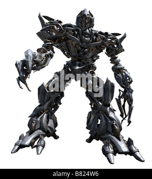 Transformers Transformers  Year: 2007 USA Megatron  Director: Michael Bay - Stock Photo