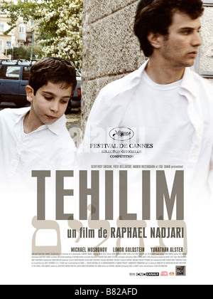 Tehilim Tehilim  Year: 2007 - France / Israel / USA Affiche / poster Yonathan Alster, Michael Moshonov  Director: - Stock Photo