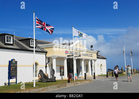 Hotel Land s End Penwith peninsula Cornwall England United Kingdom - Stock Photo