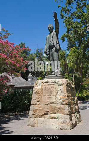 Cecil Rhodes mounment in the Company's Garden Cape Town South Africa - Stock Photo