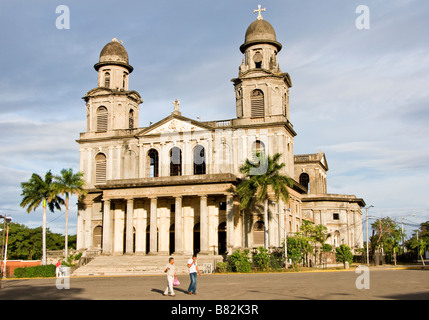Old Cathedral of Managua - Stock Photo