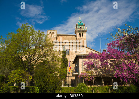 La Cartoixa, Valldemossa, Mallorca, Spain - Stock Photo