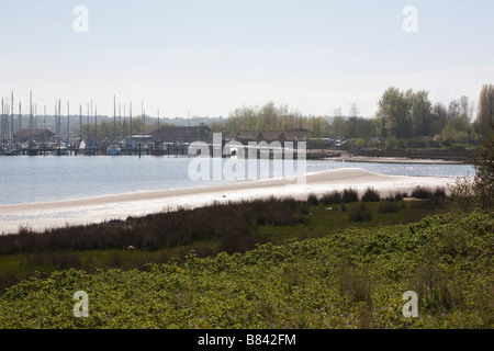 A view at the harbour 'Heilgenhafen' (Schleswig Holstein, Germany). - Stock Photo