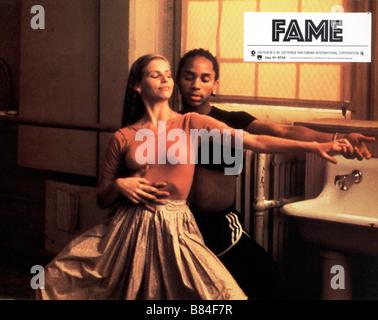 Fame  Year : 1980 Antonia Franceschi , Gene Anthony Ray  Director: Alan Parker - Stock Photo